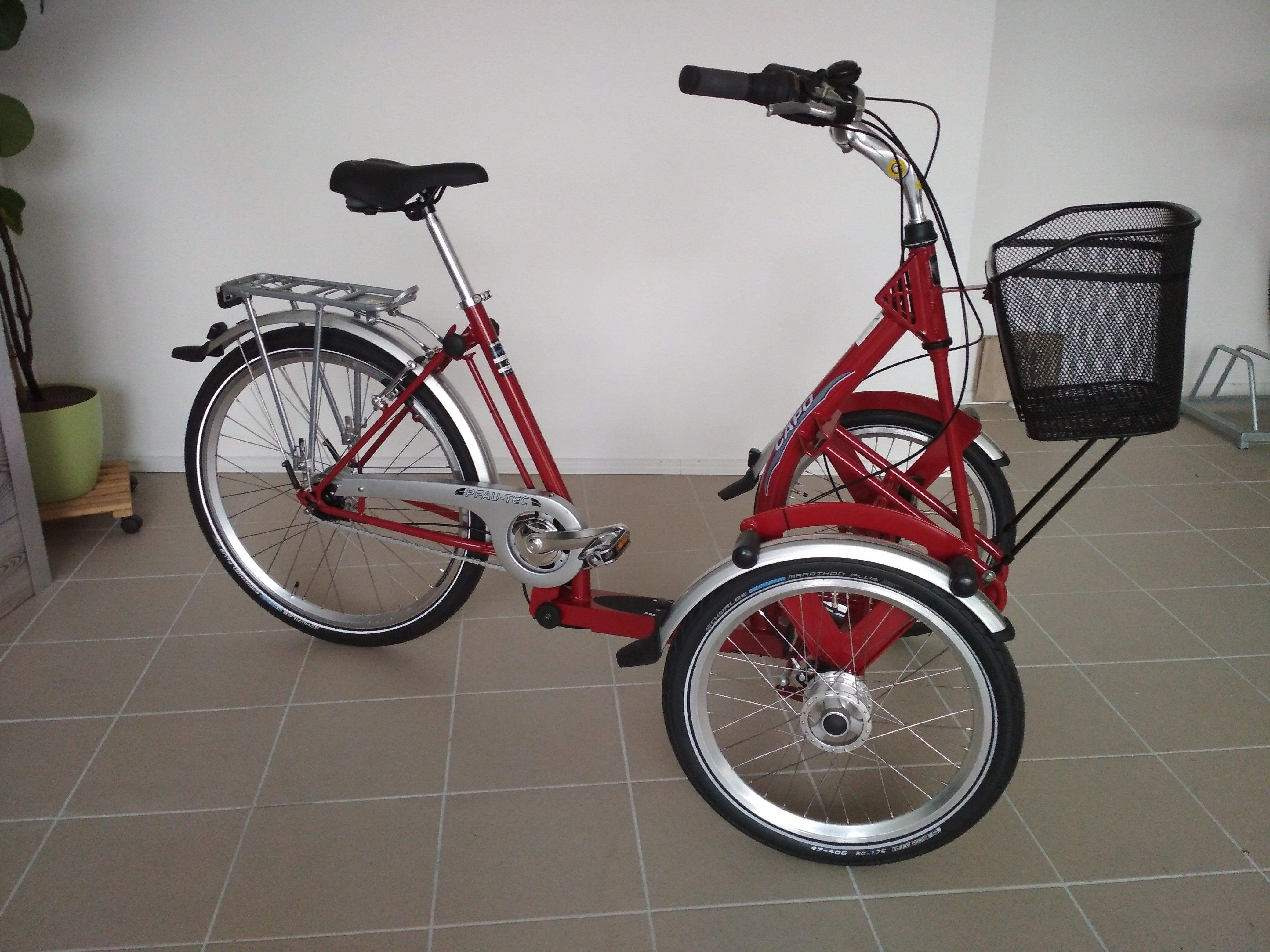 senioren dreirad capo ihr fahrradladen f r besondere e. Black Bedroom Furniture Sets. Home Design Ideas